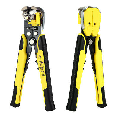 Crimper Plier Crimping Tool Set Cable Wire Terminal Cutter Bootlace Ferrule T4P5