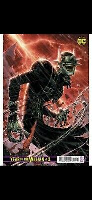1:500 COVER VARIANT DC Year of the Villain #1 BATMAN WHO LAUGHS (NM) Hot Comic!!
