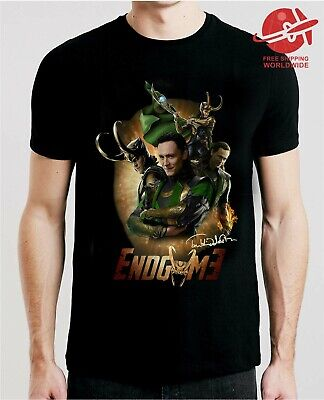 Avengers End Game Movie Poster Marvel Officially Licensed Adult T-Shirt