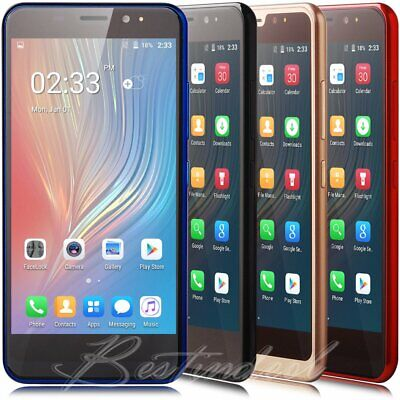 5 Inch 2SIM Quad Core 16GB Android 8.1 Cheap 3G Smartphone Cell Phone Unlocked