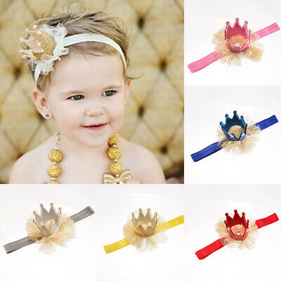 1pcs Newborn Headband Cotton Elastic Baby Print Floral Hair Band Girls Bow-knot