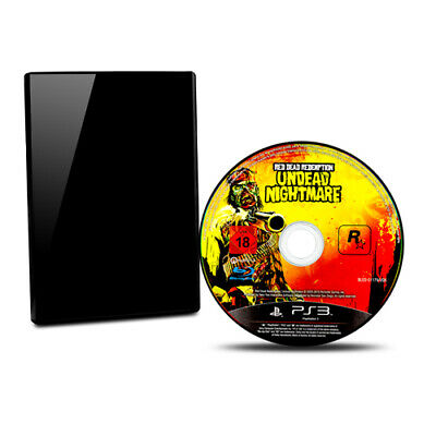 Ps3 Playstation 3 Spiel Red Dead Redemption Undead Nightmare + Ovp + Anl(usk 18)