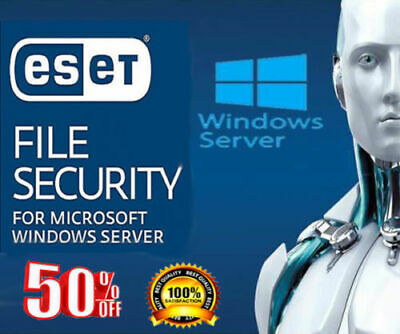 ESET File Security for Microsoft Windows Server 2016/2019 for 1 Server (1 Year+)