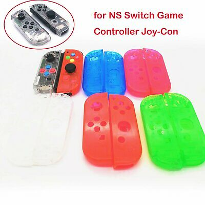 2pcs Game Housing Cover Protective Case Replace for NS Switch Controller Joy-Con