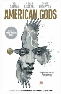 American Gods: Shadows Adapted for the first time in stunning c... 9781472251367
