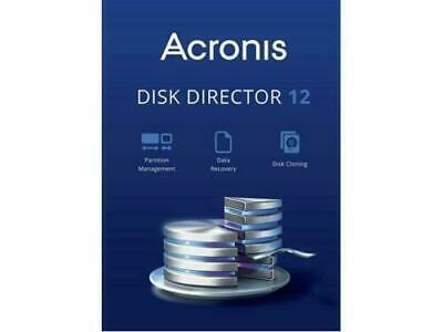 Acronis Disk Director 12 - License Key - Lifetime Updates - Windows