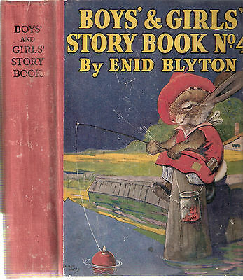 Boys' and Girls' Story Book No 4 by Enid Blyton ..... News Chronicle  hd/bk