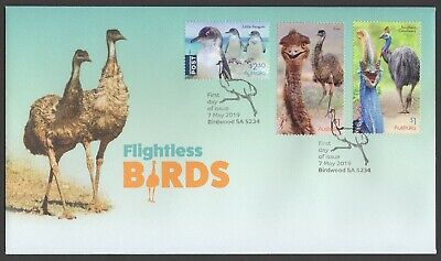 2019 Flightless Birds Australia - Gummed FDC