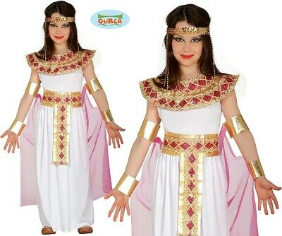Childs Egyptian Girl Fancy Dress Costume Kids Girls Cleopatra type Outfit fg