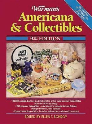 Warman's Americana & Collectibles (WARMAN'S AMERICANA AND COLLECTIBLES)  Paperb