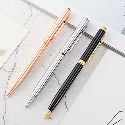 Exquisite Metal Ballpoint Pen Rotating Ball Point Pens Writing Tools Supplies