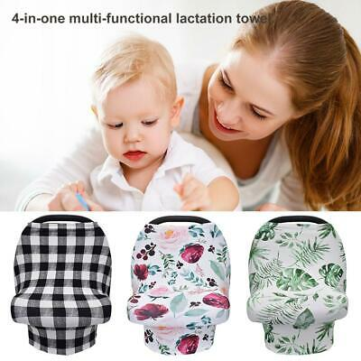 Breathable Nursing Cover Scarf Breastfeeding Covers Multifunction Canopy Blanket