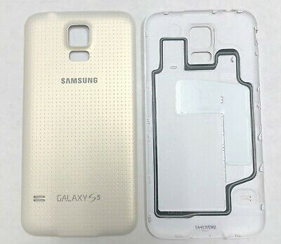 OEM Battery Cover Replacement Back Door for Samsung Galaxy S5 SM-G900 White