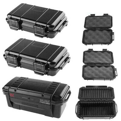 Portable Outdoor Shockproof Sealed Waterproof Safety Case Tool Holder Dry Box