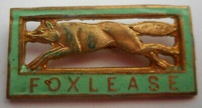 FOXLEASE Girl Guides Activity Centre enamelled badge