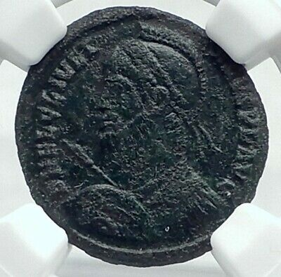 JULIAN II the APOSTATE Philosopher 361AD Authentic Ancient Roman Coin NGC i78725