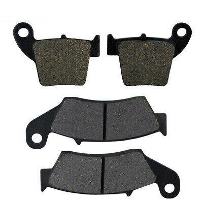 4Pcs Motorcycle Front & Rear Brake Pads For Honda CRF250R / X CRF450R CR125R