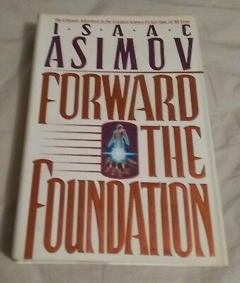 Forward the Foundation by Isaac Asimov (1993, Hardcover)