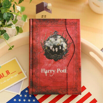 Harry Potter Diary Journal Notebook Notepad Note Book Vintage Colorful Gift