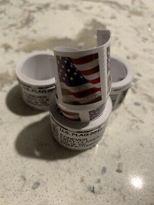 USPS Forever Stamps 100 Stamps (1 roll)