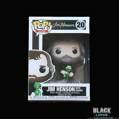 Funko Pop! Jim Henson with Kermit the Frog Icons IN STOCK Pop (2019) 20