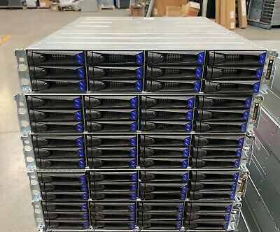 5x Oracle Storage Array w/ 12x Sun 300GB 15K FC 4Gbps HDD !!SOLD AS IS!!