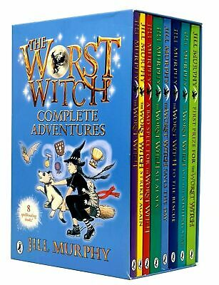 The Worst Witch 8 Books Collection Set By Jill Murphy (Strikes Again,All At Sea)