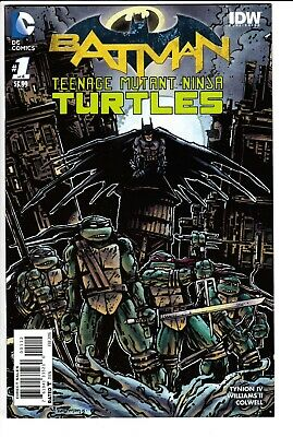 Batman Teenage Mutant Ninja Turtles #1, Eastman 1:50 Variant, Dc/Idw (2015)