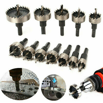15mm-50mm HSS Hole Saw Tooth for Steel Metal steel Drill Bits Cutter Holesaw _BG