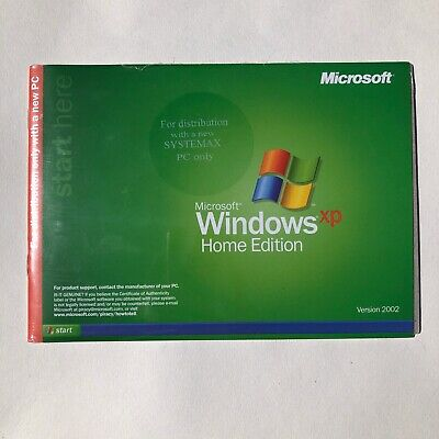 Microsoft Office Windows XP Home Edition Reinstallation CD