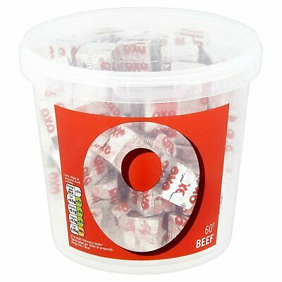 OXO Beef stock 60 cubes