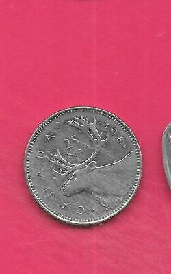LOT OF 3 Canadian Old 25 Cent Quarter Coins 1977 -1979