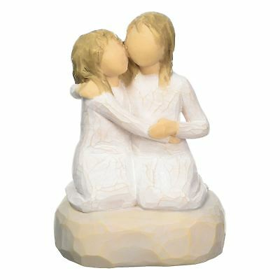 Willow Tree Sister Mine Resin Figurine Family Keepsake Figure Ornament Gift