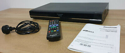 Panasonic DVD Recorder 500GB Hard Drive DMR-XW390 with remote and manual