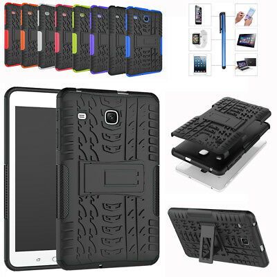 "Heavy Duty Hybrid Stand Case Cover For Samsung Galaxy Tab E 8.0"" T375 T377 T378"