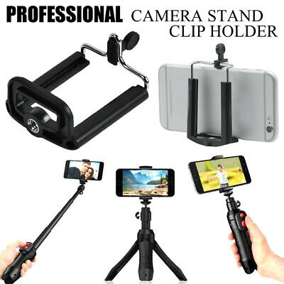 Universal Cell Phone U Clip Mount Holder Bracket For iPhone Video Only Clip
