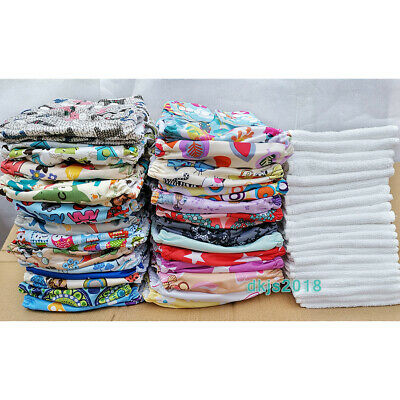 Washable Baby Pocket One Size Nappy Cloth Reusable Diapers STANDARD Cover Insert