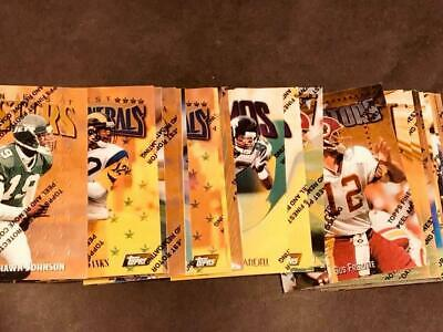 1997 Topps Finest Gold NFL w/peel You Choose Your Own Card