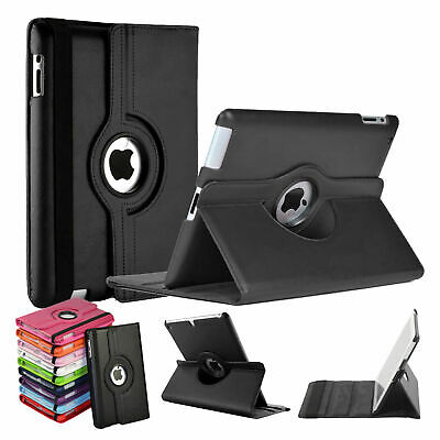 Leather 360° Degree Rotating Smart Stand Case Cover For iPad Mini 4