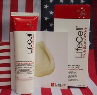 New Lifecell Anti Aging Face Cream Wrinkle Remove Smooth Younger Skin Treatment