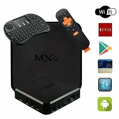 MXQ TV Box Android 6.0 HD18 PRO 4K S905X Quard-core 1G+8G Wi-Fi Embedded with ..