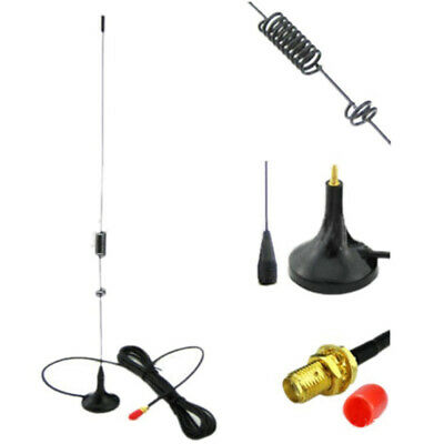 New UT-106UV Dual Band Car Magnetic SMA-Female Antenna For BaoFeng 888S UV-5R