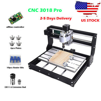DIY CNC Router 3018-PRO Wood Engraver PCB Milling Machine With Offline Control