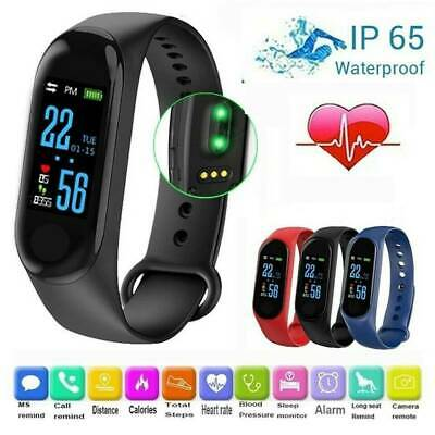 M3 Smart Watch Band Blood Pressure Bracelet Wristband Fitness Tracker Heart Rate