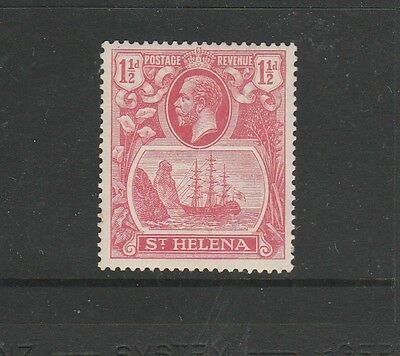 St Helena 1922/37 1 1/2d rose Red MM SG 99