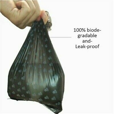 Degradable Pet Waste Poop Bags Dog Clean Up Refill Garbage Bag 10Roll/150PCS SHP