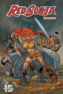 RED SONJA #6, COVER A CONNER, New, First print, Dynamite (2019)