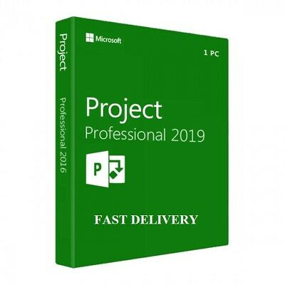 MS Project 2019 Pro Professional Genuine + Link Download Instant Delivery