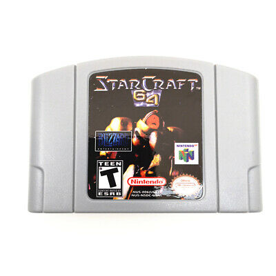 STARCRAFT 64  for Nintendo 64 Console N64 Game cartridge Card -US Version
