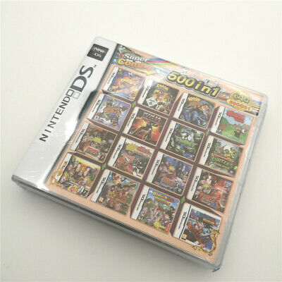 NEW arrival 500 in 1 Game Card For 3DS NDSI NDSL NDS Multicart Cartridge